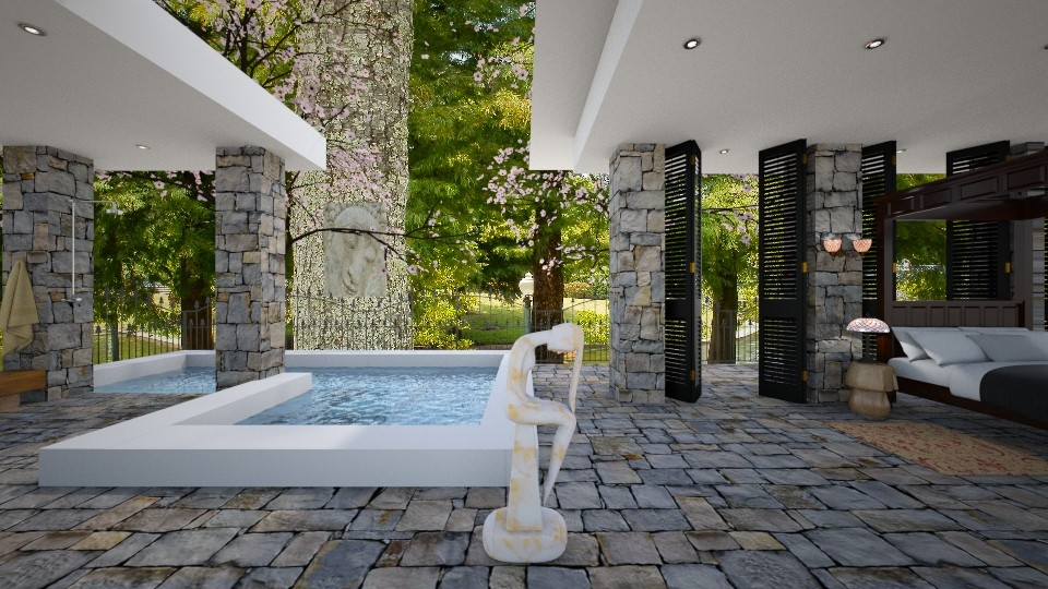 boudoir pool - Modern - Garden - by russ