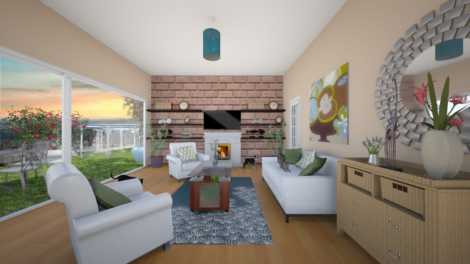 living room  - Living room - by mbickel