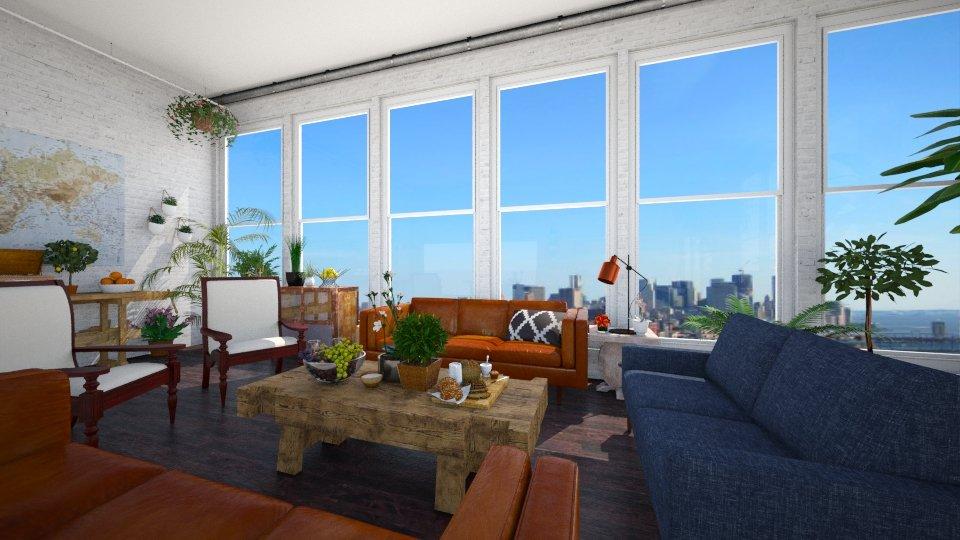 Loft - Living room - by lauren_murphy