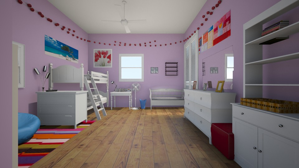 my room  - Bedroom - by nandabear