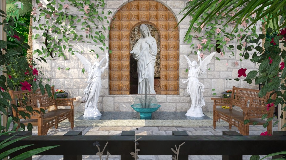 Design 81 Mediterranean Grotto - Garden - by Daisy320