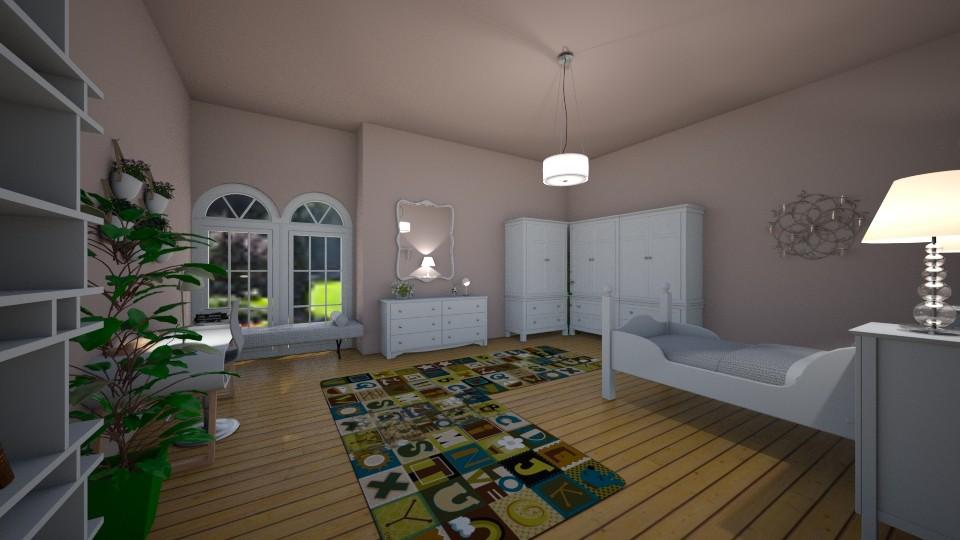 bedroom - by vladiari