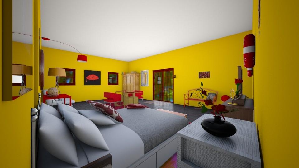 Cosimas Room - Global - Bedroom - by gloucestergirl04