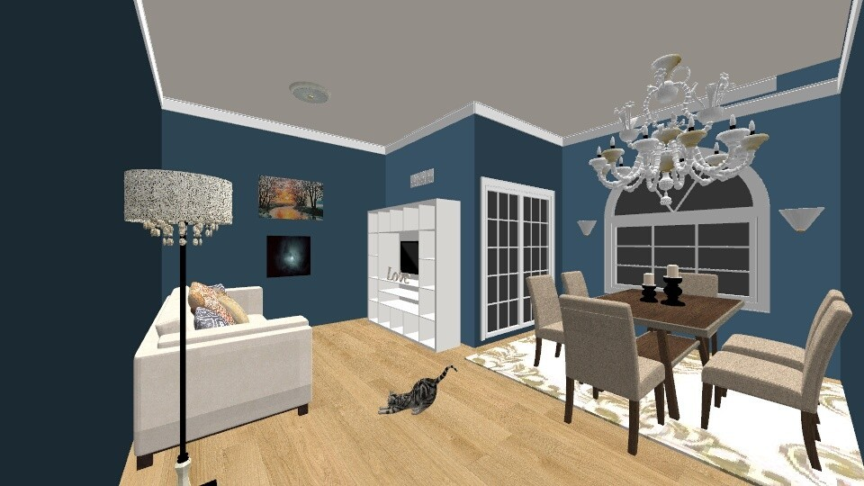 Bright - Eclectic - Living room - by mel1808