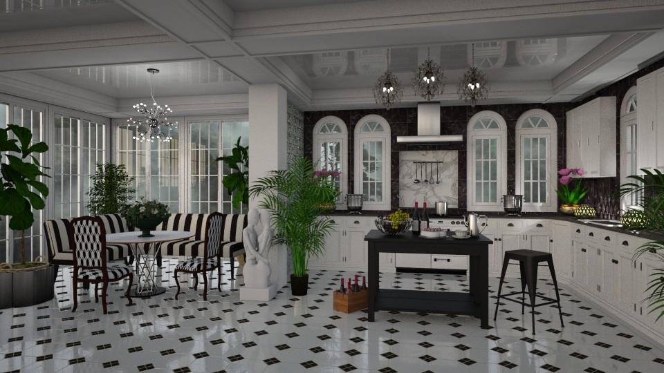 Kitchen Elegance - by lydiaenderlebell
