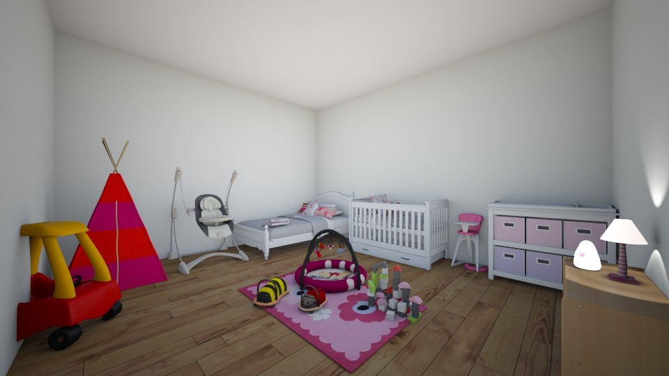 sharing room - Kids room - by Piper Corey
