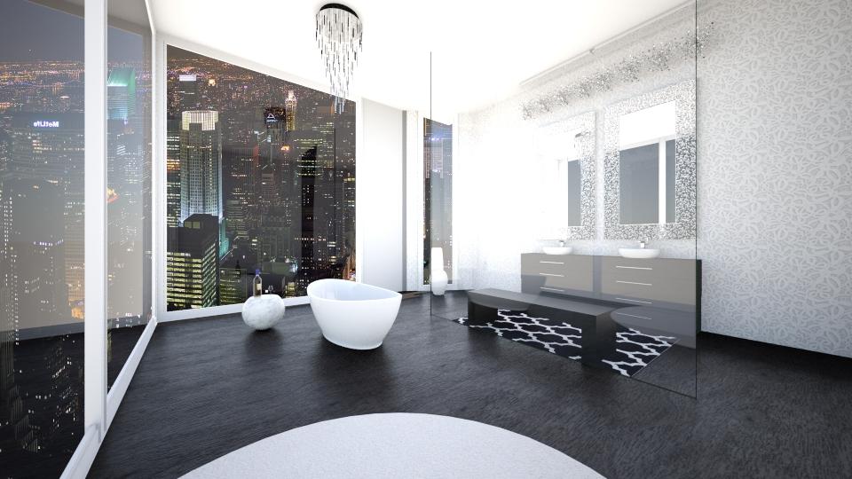 City Scene - Bathroom - by jessicabaucke