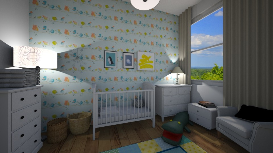 nursery - Kids room - by 16phowarthx