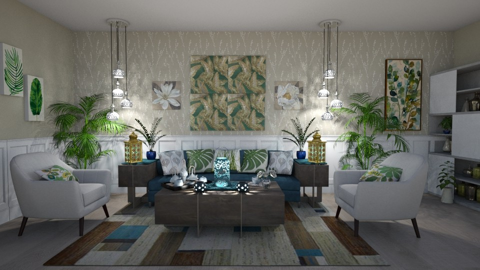 Plants in the Living Room - by Kelly Carter