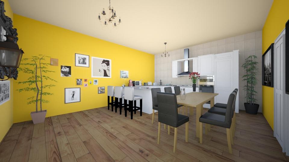 Abef - Kitchen - by AdriennSamu