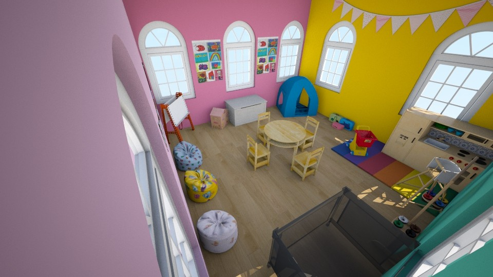 Colorful Daycare - Kids room - by Zy121405