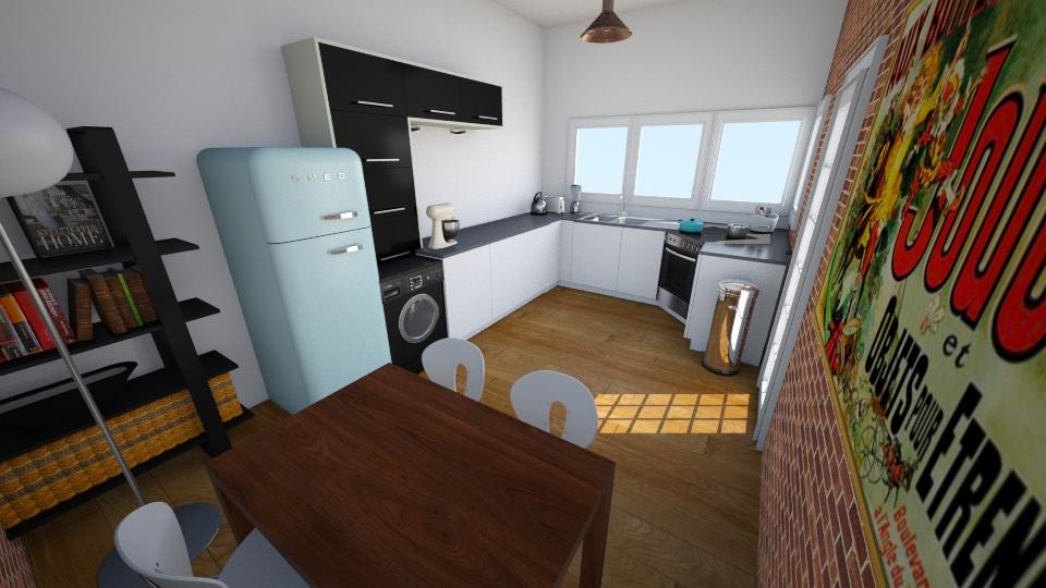 5 Greig Terrace - Kitchen - by rachelbbridge