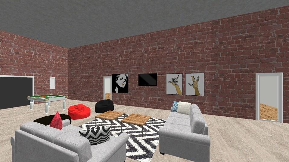 Student Lounge - by BARE Design Studio