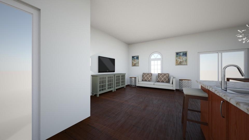 Living room angel 2 - by Christine Ward_877