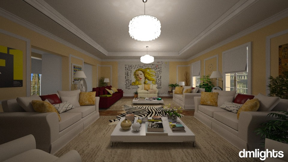 appartamento a Milano - Living room - by DMLights-user-1162805