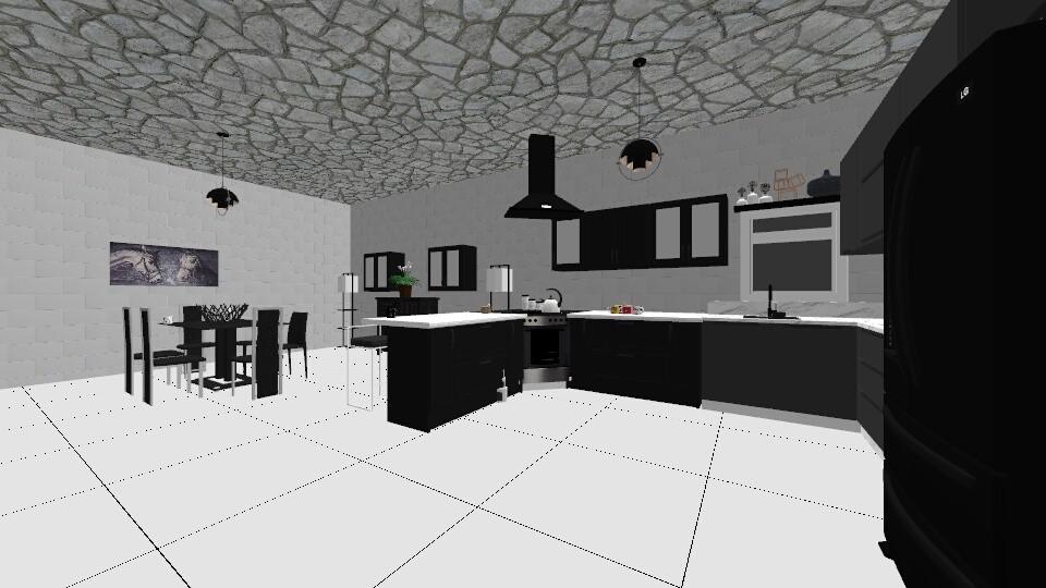 kitchen - by whygodwhy