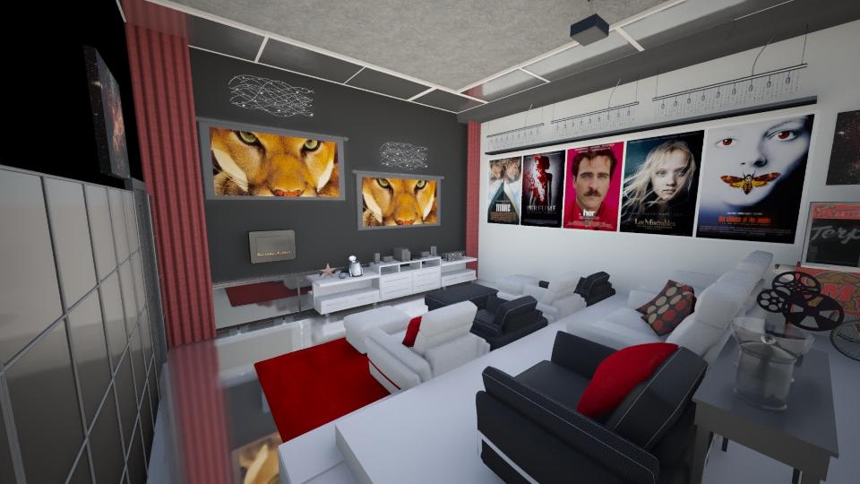 Home cinema - Living room - by loritah