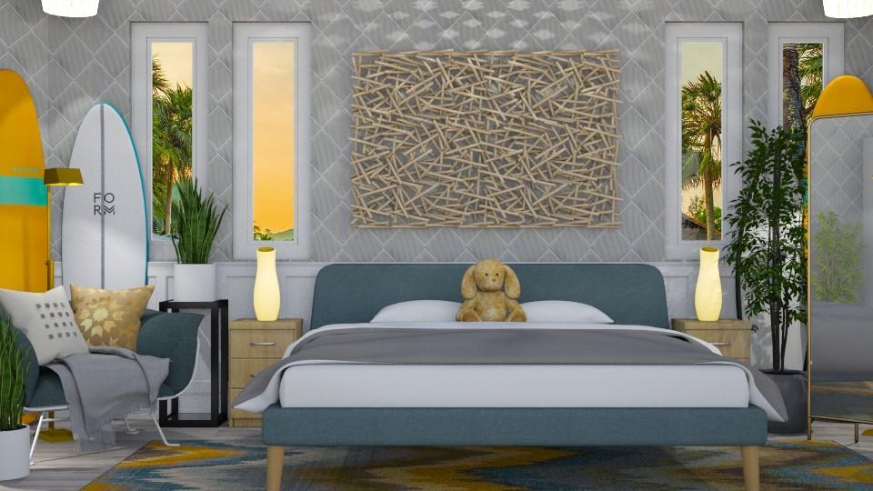 SURF CULTURE BEDROOM - Bedroom - by KC Pechangco