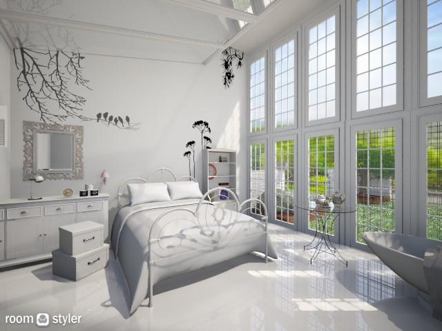白 - Bedroom - by Ni NI