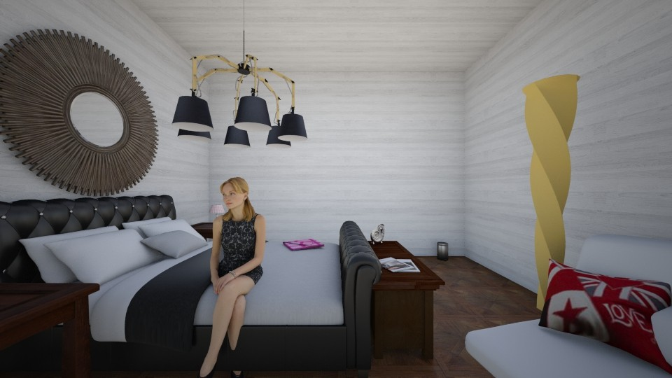 Beach House Bedroom - Bedroom - by mittens1278