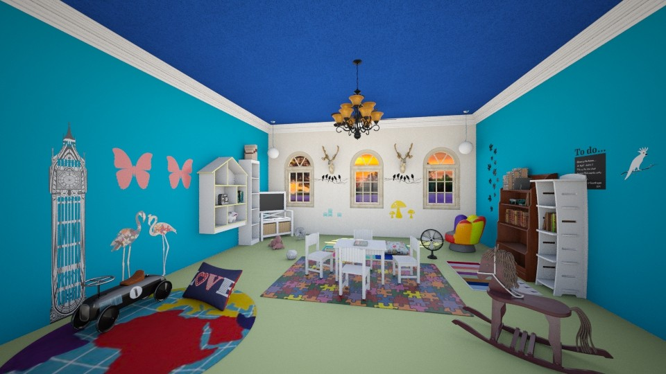 playroom - Kids room - by Redsia711997