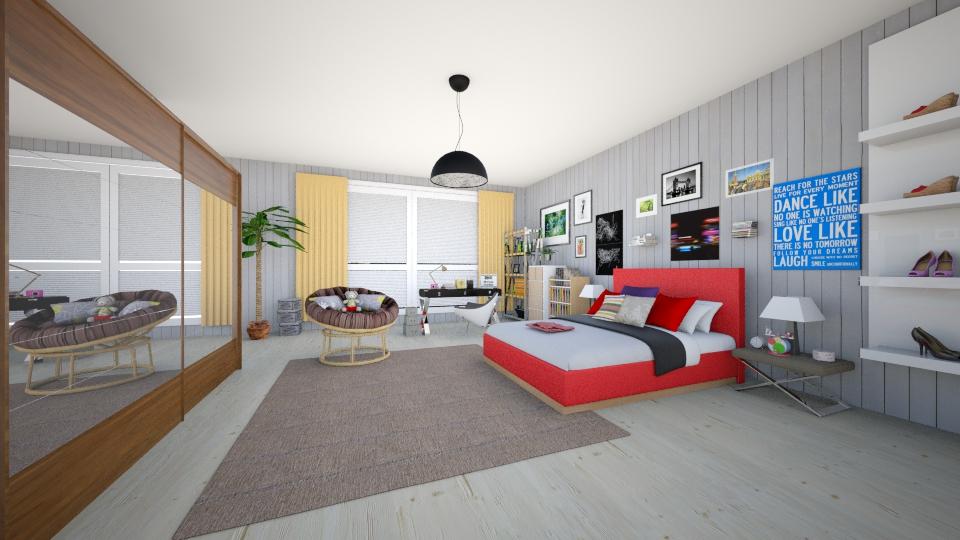 bedroom - Bedroom - by Kamale