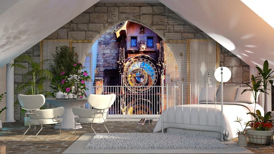 clock - Bedroom - by anchajaya