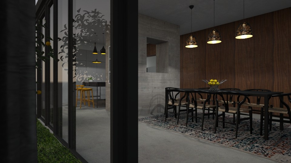 Dining room - Minimal - Dining room - by Annathea
