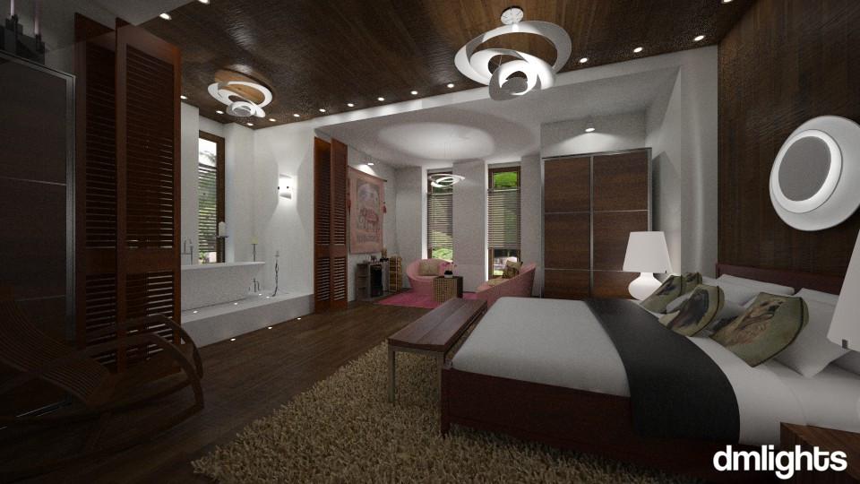 WalNutCracker - Eclectic - Bedroom - by LucretiaC