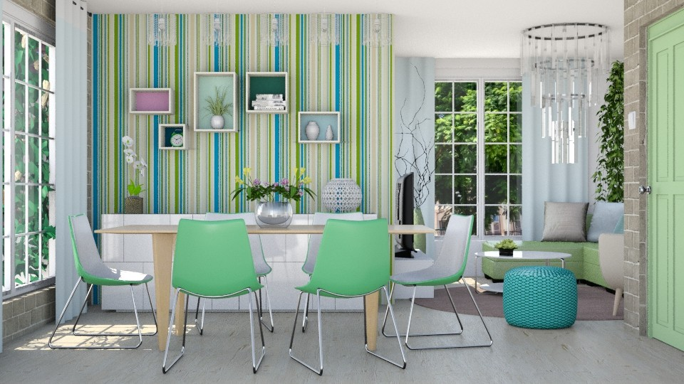 Fresh Juno - Dining room - by Liu Kovac