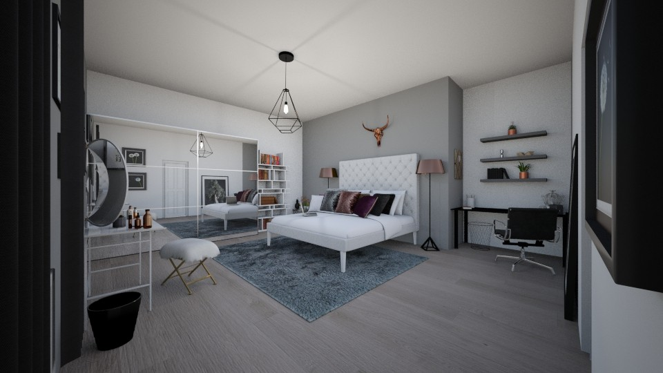 dream Bedroom - by lenabena