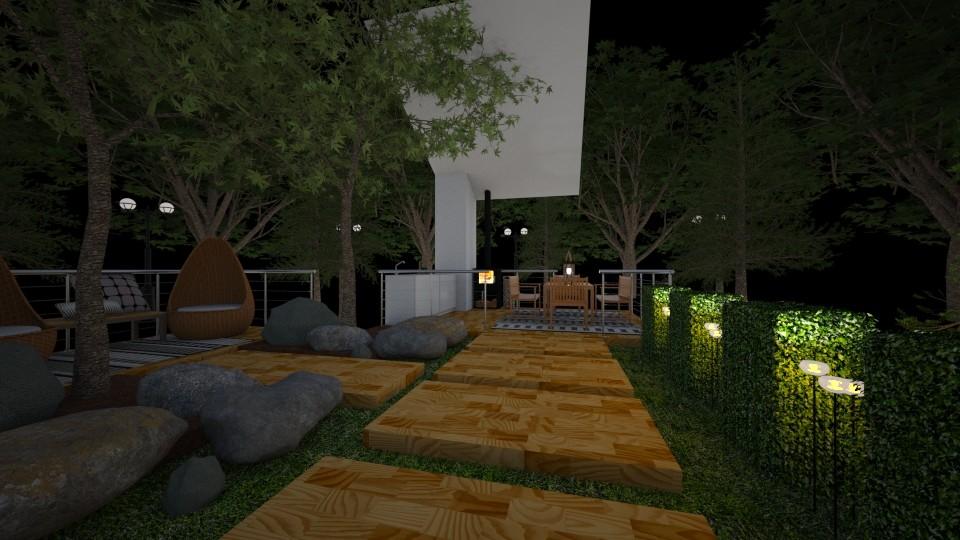 Garden Hideaway  - Garden - by DecoMaster5