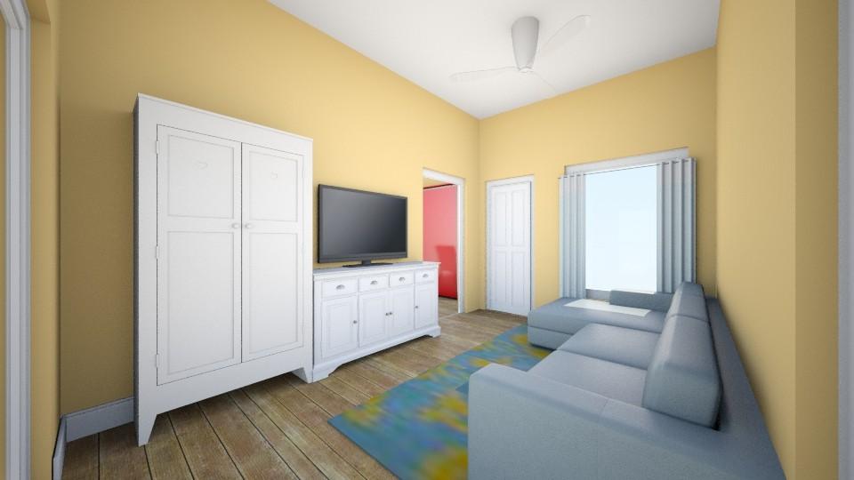 my livingroom - by pamela Cowan