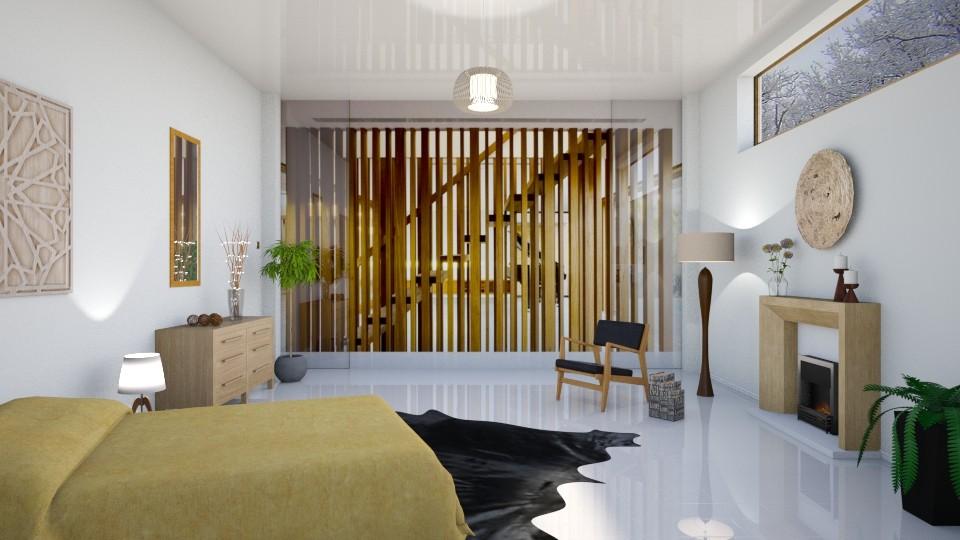 wood and white - by barnigondi