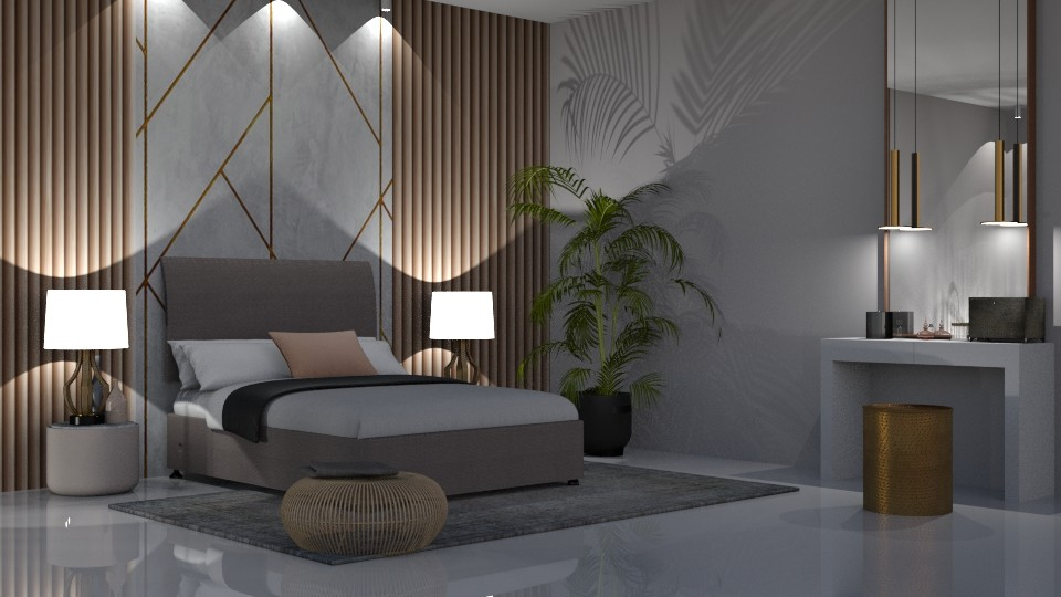 Wall panelling - Modern - Bedroom - by jagwas