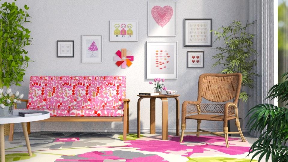 Happy Day - Living room - by GraceKathryn