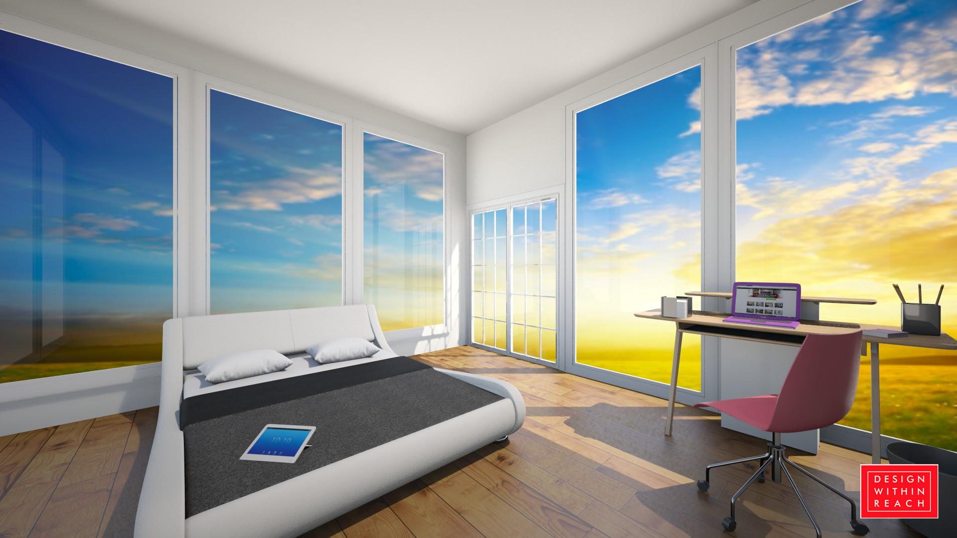 Spring Sunrise Room - Bedroom - by awsompaws