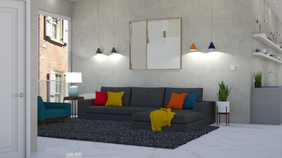 Modern Playful - Living room - by lovedsign