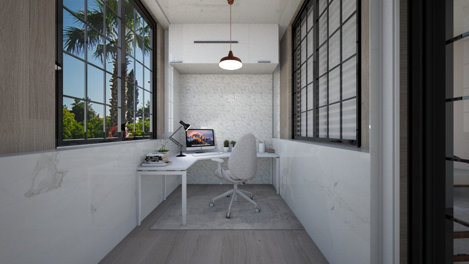 minimal office - by cuneyt oznur