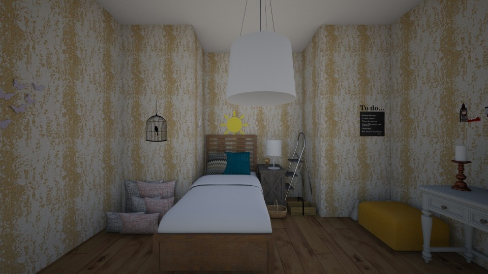 Cosy bedroom - by Shoe690