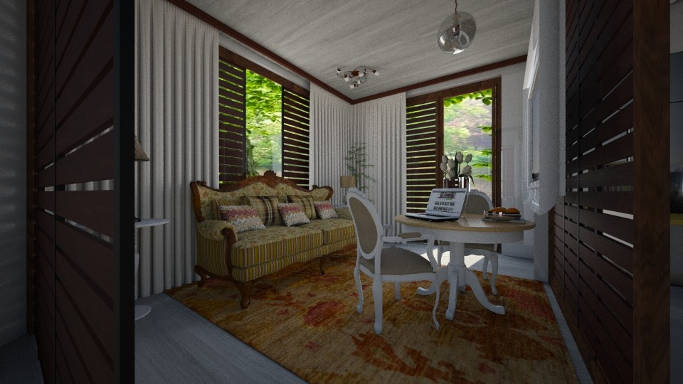 Lua - Living room - by Maria Helena_215