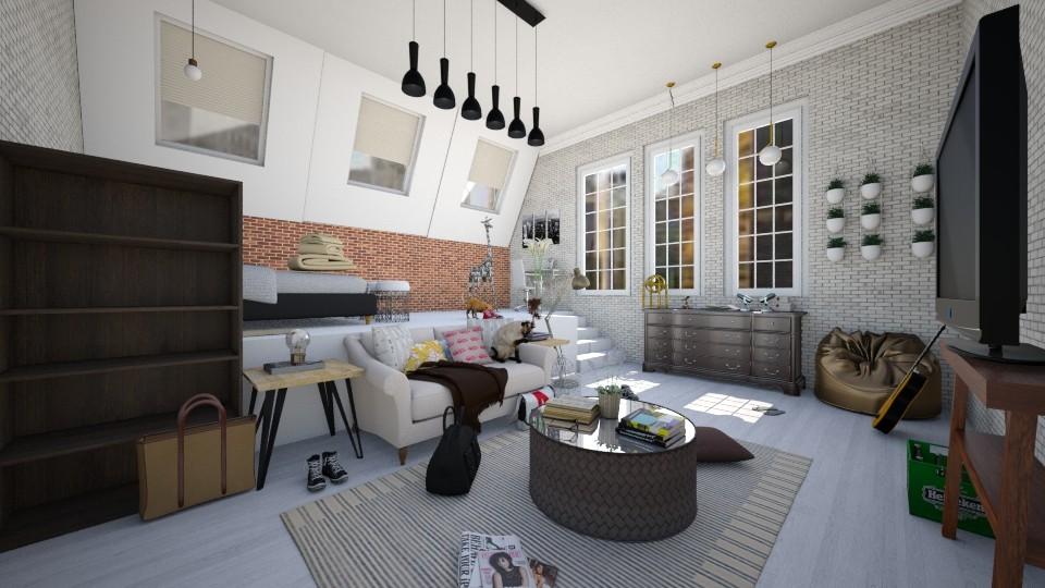 Loft Bedroom - Modern - Bedroom - by tina45