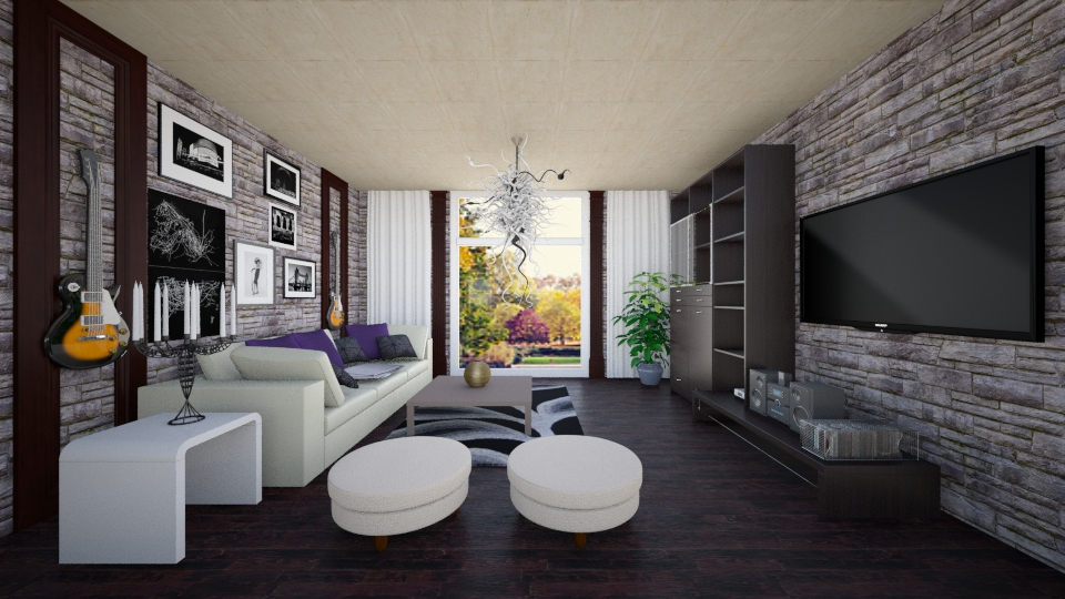klf - Living room - by Kamale