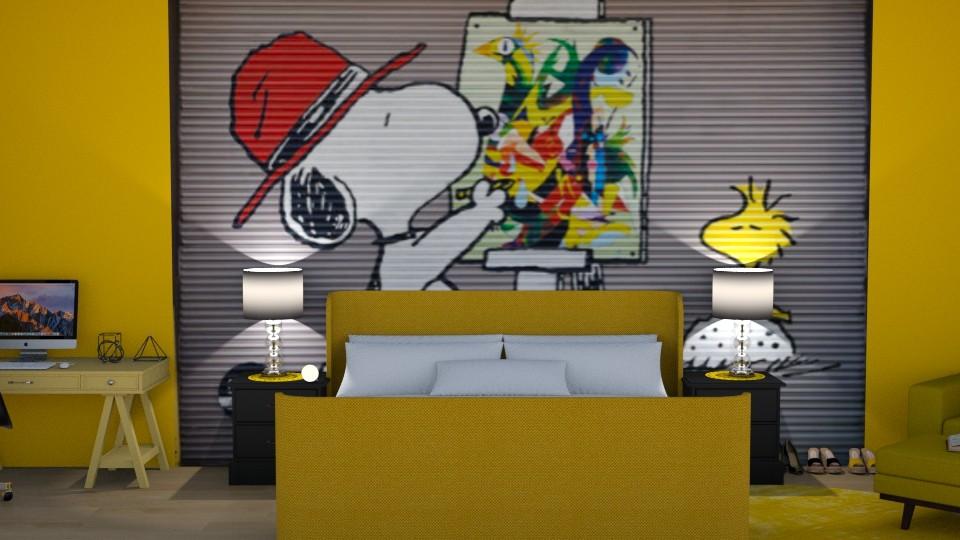 Charlie Brown Room - Bedroom - by Ellie665