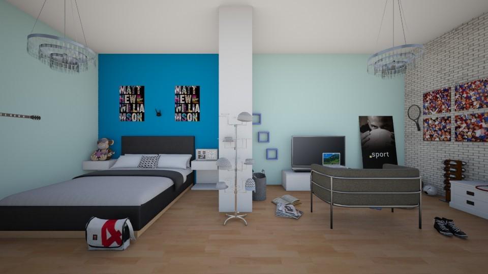 Tati - Bedroom - by saioamerillas