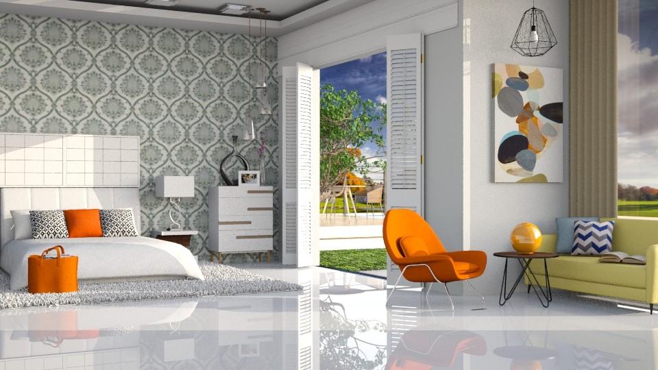 Modern Bedroom - Modern - Bedroom - by ayudewi