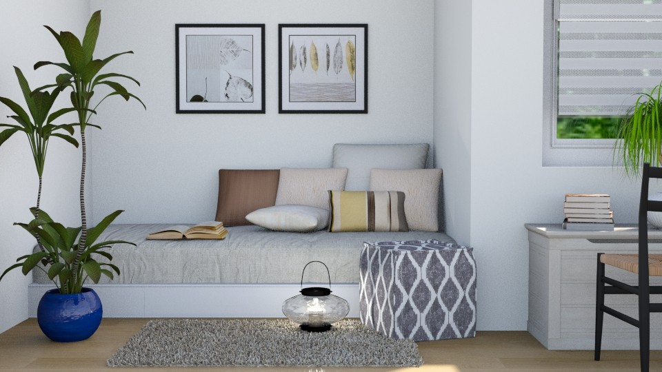Student - Modern - Bedroom - by stephendesign
