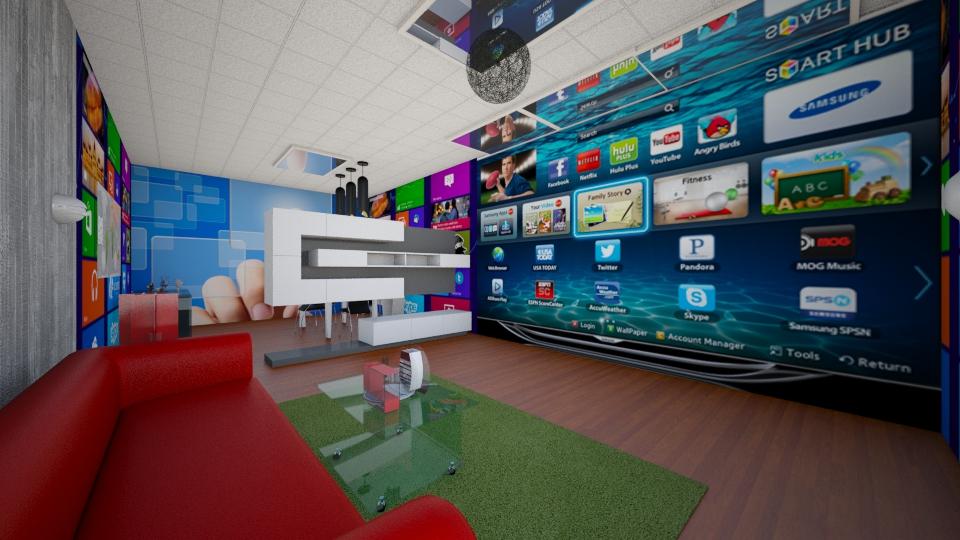 future - Living room - by abraham samangun