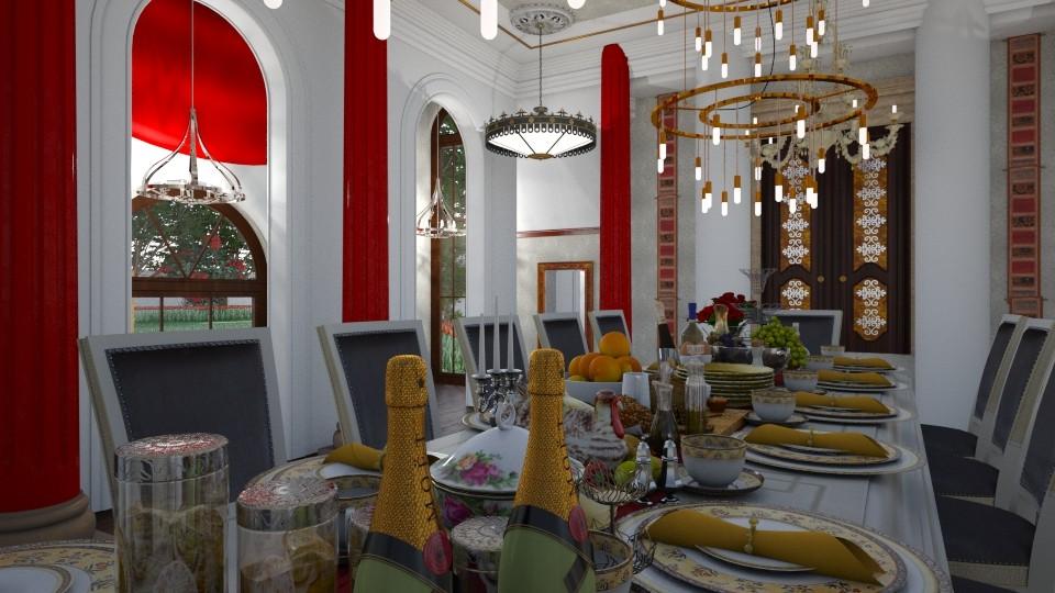 Royal Dining - Classic - Dining room - by XiraFizade