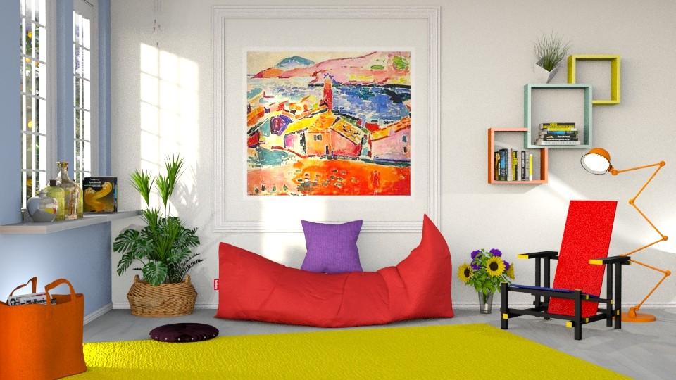 Matisse corner - by barnigondi